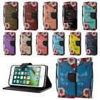 """For Apple iPhone 7/ iPhone 8 4.7"""" Bible Verses Wallet Cover Case Kickstand + Pen"""