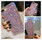 For LG K20 Plus/Harmony/Grace/K10 2017 Girl's Glitter Bling Rubber Diamond Case