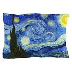 "CafePress Van Gogh Starry Night Standard Size Pillow Case, 20""x30"" (629501923) image"