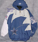 Vintage 90s Dallas COWBOYS Logo Athletic JACKET SharkTooth NFL ProLine NWT NOS