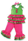 Mud Pie Baby RUMBA TOP AND PANTS 167616 Little Sprout Collection Newborn-2T/3T