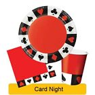 Card Night Range Tableware Balloons Decorations - CP 1C