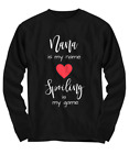 Nana is My Name, Spoiling is My Game T-Shirt, Gift for Nana, Mother's Day Gift f