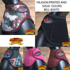 Hilason Western Horse Leg Protection No Turn Bell Boots Pair All Color U-B101