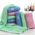 Soft Bamboo Fiber Bath Towel Cotton Hand Towel Strong Water absorption Bathroom