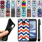 For Motorola Moto Z Force Droid Edition Chevron TPU SILICONE Case Cover + Pen