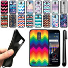 "For LG Stylo 3 Plus/ Stylo 3 Stylus 3 5.7"" Chevron TPU SILICONE Case Cover + Pen"