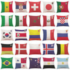 2018 World Cup Home Pillow Cover Soccer Pillow Covers Pillowcase Room Decor DIY