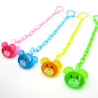 Baby Infant Cartoon Animal Pacifier Holder Clip Nipple Teether Dummy Strap Chain