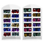 12 Pairs Colorful Rhinestone Earrings Ear Studs Women Jewelry Ornaments Dreamed