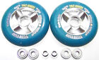 "Scooter Rendre Plus Rapide Mise au Point 104mm Rouleau "" Sticky "" Abec 9 Bleu"