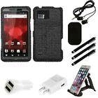 For Motorola Droid Bionic XT875 Diamond Diamante Bling Rhinestone Case Combo