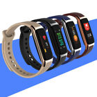 Smart Watch Heart Rate Monitor Step Count Fitness Bracelet For iOS Android