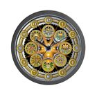 CafePress - Witch's Wheel Of The Year - Unique Decorative 10 Wall Clock