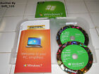 Microsoft Windows 7 Home Premium Upgrade 32 Bit and 64 Bit DVDs MS WIN =NEW=