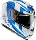 HJC Rpha ST Murano White Blue Full Face Sun Visor Crash Helmet RRP £299.99
