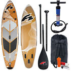 F2 I-SUP Swell Wood Complete Set Used Stand Up Paddle Board Set Rental