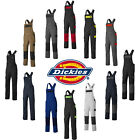 Dickies Everyday Bib and Brace Multi Pocket Coveralls Mens Womens PPE (ED247BB)