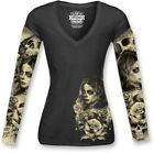 Lethal Threat Love and Death Womens Long Sleeve T-Shirt Black <br/> Free Domestic Shipping &amp; No Restock Fees on Returns*