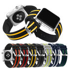 For Apple Watch 38mm 42mm!Contrast Color Bracelet Wrist Strap Band w/Connector