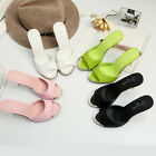 Hot Fashion Summmer Womens High-heeled Sandals Solid Color Shoes Casual Sandals