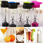 600ml Electric Protein Shaker Blender Mixer Bottle Cup Quality Tornado Nutrition
