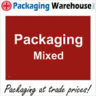 CS202 PACKAGING MIXED RECYCLING SIGN CARDBOARD BOX PAPER BIN SKIP CONTAINER