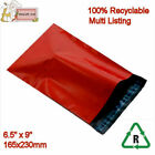 RED Mailing Bags Poly Postal Packing 6