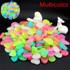 10X/Bag Colorful Glow in The Dark Stones Pebbles Rock For Fish Tank Aquarium HU