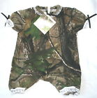REALTREE CAMO CAMOUFLAGE INFANT BABY GIRLS ROMPER - CHOOSE SIZE