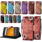 For ZTE Blade Force N9517 Bible Verses ID Card Wallet Cover Pouch Case Stand