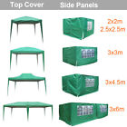 Top Cover Side Panels for Outdoor Pop Up Gazebo Garden Marquee Tent Replacement