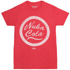 Fallout Nuka Cola Bethesda Licensed Adult T-Shirt - Red