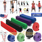 Resistance Bands Loop Crossfit Yoga Pull Up Exercise Fitness Strength Training image