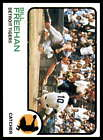 1973 Topps Baseball -#341-653 - Pick Your Card - All Cards Scanned Front & Back