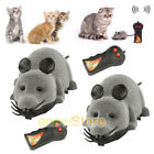 1x2x Remote Control RC Rat Mouse Wireless For Cat Dog Pet Funny Toy Novelty Gift