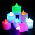 1/5/10X Flameless LED Tealight Tea Candles Light Battery-powered For Home Party