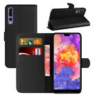 Case for Huawei P20 Pro Phone Leather Magnetic Flip Wallet Stand Cover