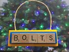 LA Chargers BOLTS San Diego Christmas Ornament Scrabble Tiles Magnet Handmade $8.99 USD on eBay