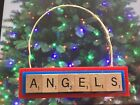 Los Angeles Angels Christmas Ornament Scrabble Tiles Magnet on Ebay