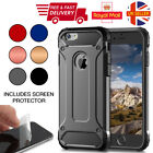 For Apple Iphone 8 7 Plus 6s 5s X Hybrid Armor Shockproof Rugged Bumper Case