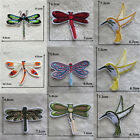 cartoon animal dragonfly  bird pattern embroidery sew iron on  applique patch