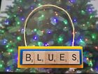 St Louis Blues Christmas Ornament Scrabble Tiles Magnet $8.99 USD on eBay