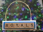 Kansas City Royals Christmas Ornament Scrabble Tiles Magnet on Ebay