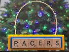 Indiana Pacers Christmas Ornament Scrabble Tiles Magnet Rear View Mirror on eBay