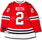 DUNCAN KEITH CHICAGO BLACKHAWKS HOME AUTHENTIC PRO ADIDAS NHL JERSEY