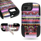 Design Hybrid Hard Soft Slim Tough  Phone Cover For ZTE Fury / Valet / Director