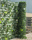 Woodside Artificial Ivy Leaf Garden Fence/wall Privacy Screening Hedge