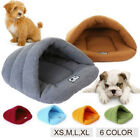 Puppy Pet Cat Dog Soft Nest Kennel Bed Cave House Sleeping Bag Tent Mat Pad Lot