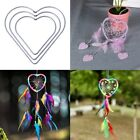 Внешний вид - Heart Metal Dream Catcher Dreamcatcher Ring Macrame Craft Hoop DIY Accessories